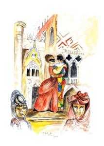 35 - 2014 Carnevale, frenesia, nel cuore gelosia di Maria antonietta Lemmi - fronte