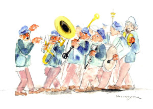 37 - 2014 La Banda di Giancarlo Vaccarezza - fronte