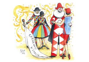 38 - 2014 Carnevali d'Italia di Giulia Salis - fronte