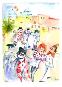 2015 n. 4 Viareggio e le Maschere di Enrica Lubrano - fronte